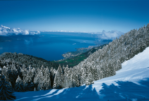 rochers de naye ski